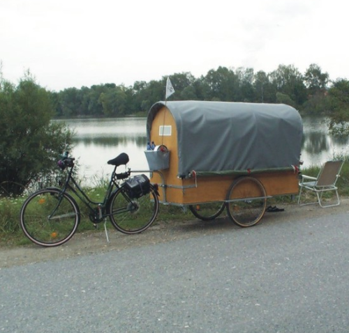 bikemech:  unitedpedal:  Home away from home.  I may need to build one of these!