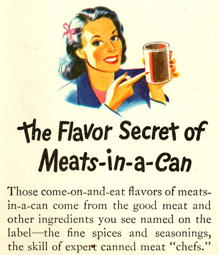 Ad brought to you by the American Meat Institute1947Love the AMI