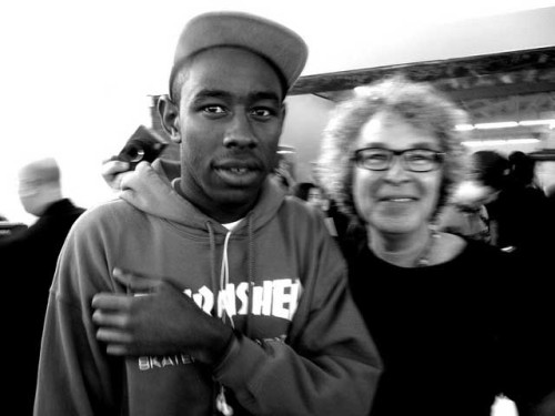 I met Tyler The Creator last night at Terrywood! Very cool evening indeed!  Photo by Erica Lauren