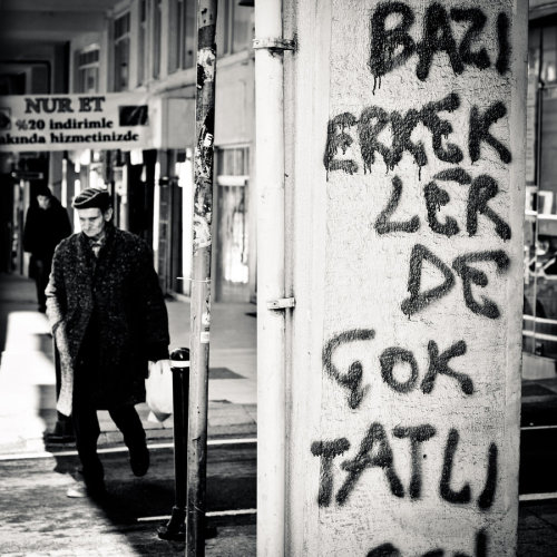 "-""Some boys are so cute too"" Beyoglu - Istanbul (2012)"