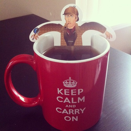kingofthesavages:  Keep Calm and Drink Tea