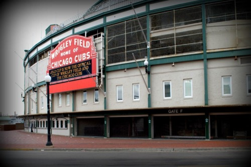 I'm getting the fever. Wrigley Field—A couple years ago—February.