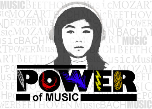 """Power of Music"" - by Nhu Pham"