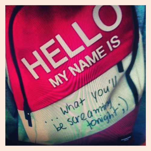 Hello, my name is … 😜 #iphoneography #iphoneonly #iphonesia #ignation #iglikes #igdaily #igers #instagreat #instahub #instalike #random #tumblr (Taken with instagram)