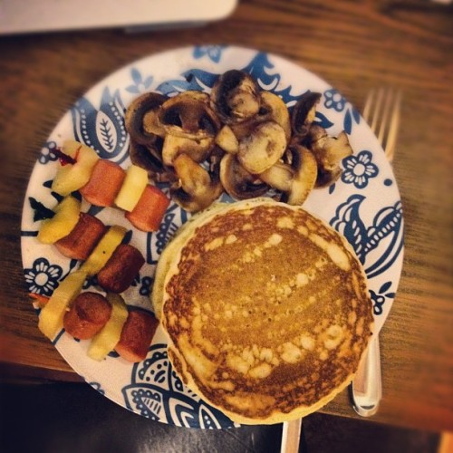 Feb 25.12 leftover foood (Taken with instagram)