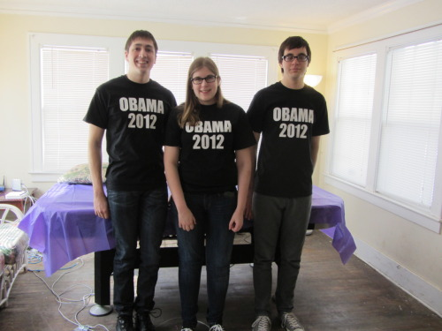 day 25 - my friends before the Romney rally #FBRPhotos