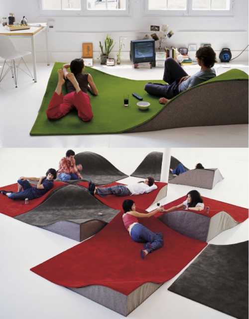 Flying Carpet Rug by Ana Mir & Emili Padrós for Nani Marquina
