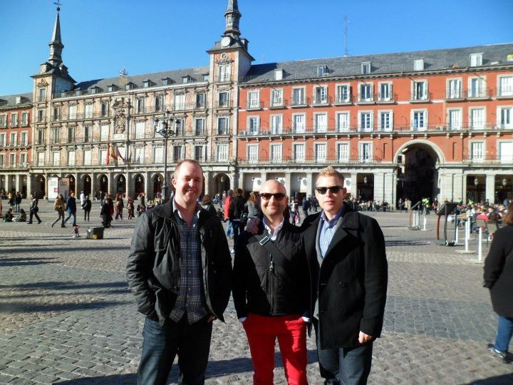 Plaza Mayor, Madrid - last weekend