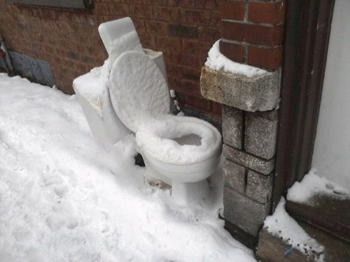 Stay Frosty Toilets!