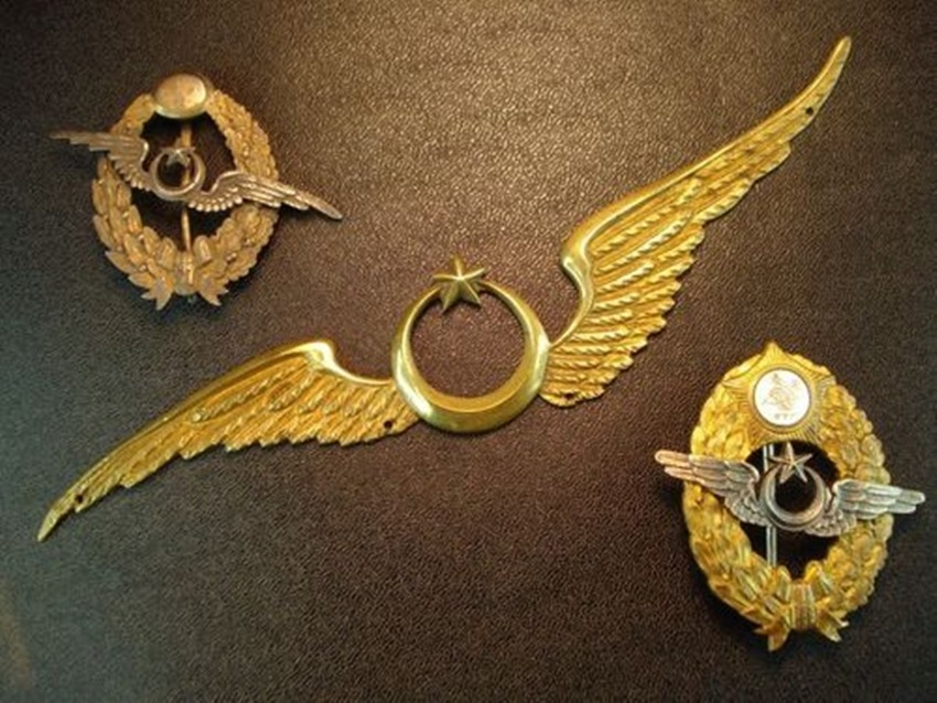 Ottoman Pilots Badge, WW1.