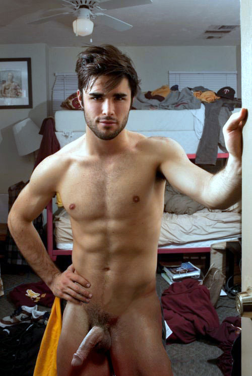 artofmalemasturbation:  Dorm Room Series: Your new roommate? No. 3 in Set from brother blogger at iheartcubs male-best-of-best:  visit HUGE collection of Male (boy) images and videos blog