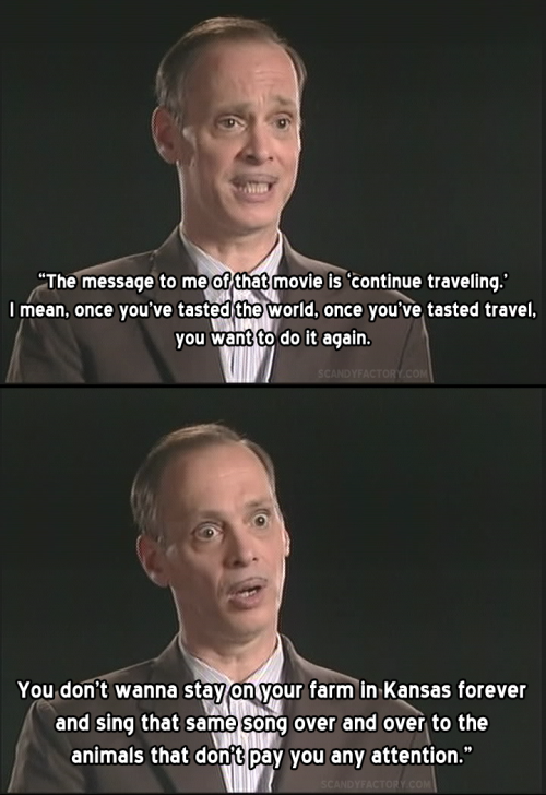 geeksquadgangbang:  John Waters on The Wizard of Oz