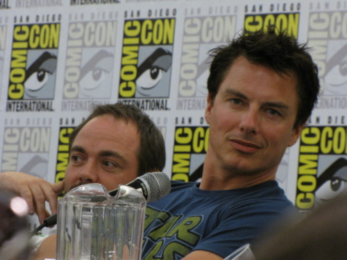 John Barrowman sees you!