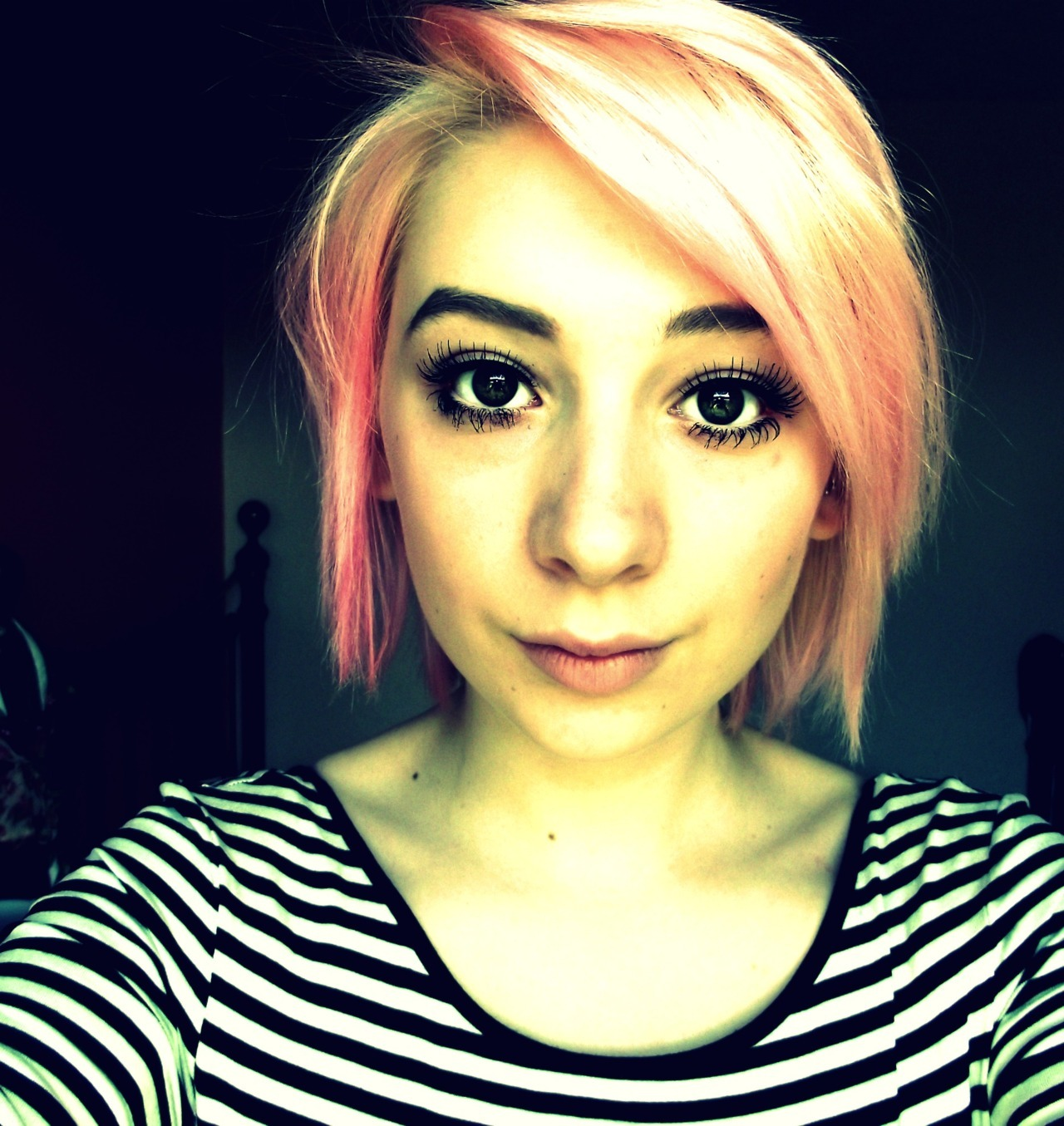 oh, hi me and pink hair.