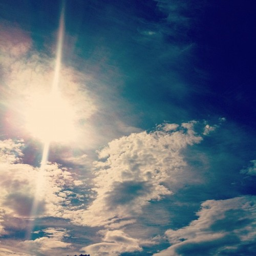 Sky (Taken with Instagram at Alphington)