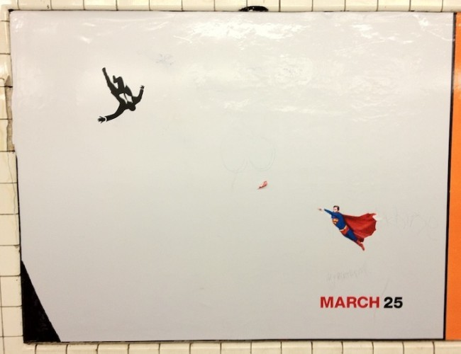 (via Superman to the Rescue | Subway Art Blog)