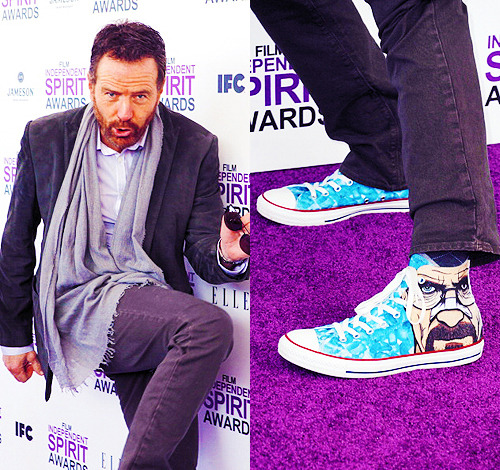 annperkins:  Bryan Cranston @ the 2012 Film Independent Spirit Awards on February 25, 2012 in Santa Monica, California.