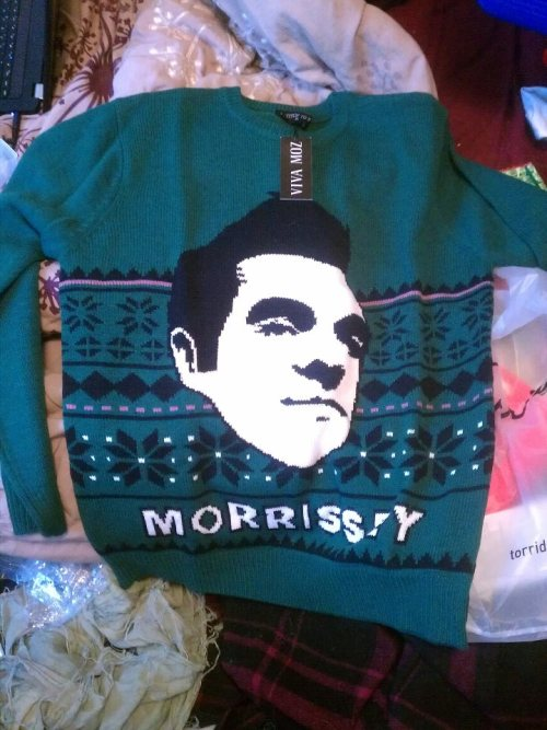 My favorite sweater, purchased from Viva Moz. I waited two years before it came back into stock again.