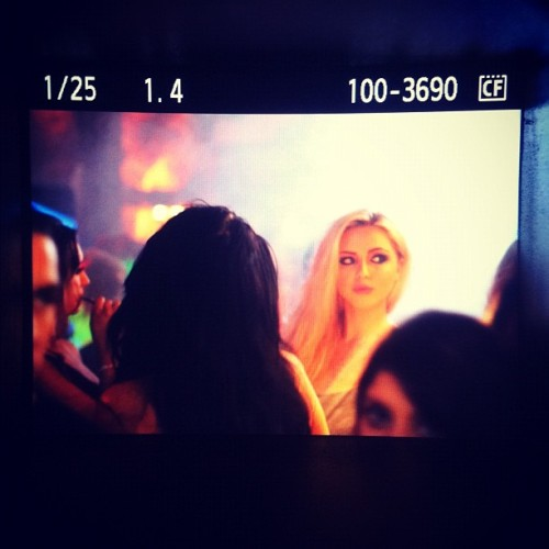 Shooting at La Soirée, Newcastle (Taken with instagram)