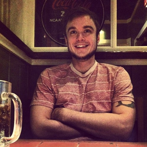 😍#dinner #candid #instagram #smile #mm #handsome #igdaily  (Taken with instagram)