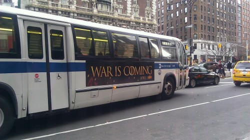 The bus I was on today =)