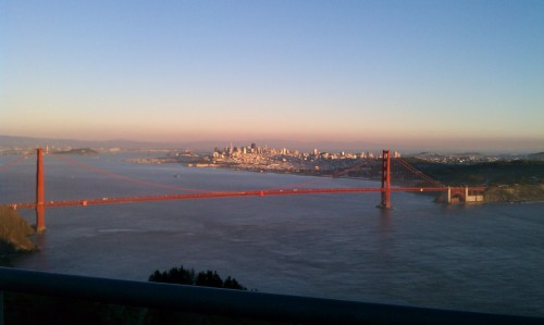 Perfect day in the Marin Headlands. Unfortunately I lost years off my life trying to get here…the bike lane closure on the Golden Gate Bridge is proving to be a constant thorn in my side and tourists are ridiculous. How is it possible for someone to see a cyclist coming and deliberately walk in front of them anyway just to take a photo? Unreal. My bloody elbow is encouraging me to hold off on any more rides in Marin until the bike lane is reopened next month.