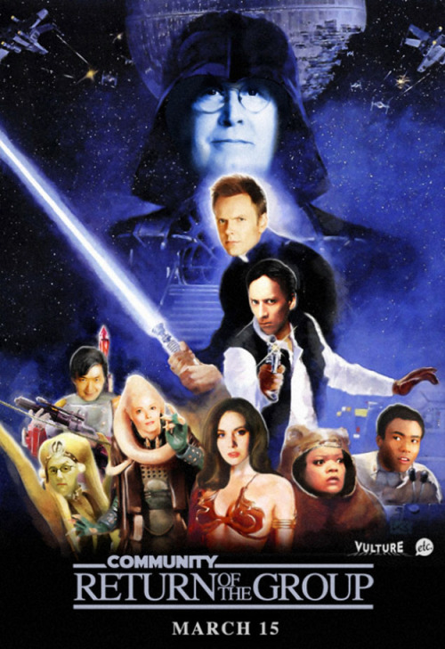 Return of the Jedi - Community Style! (via The Community Gang As The Cast Of The Return Of The Jedi)