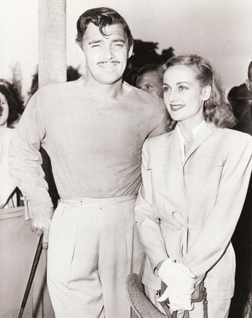 vintagesonia:  Clark Gable and Carole Lombard, C.1930's