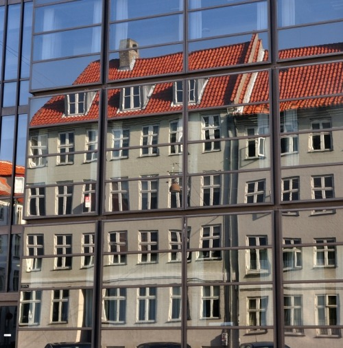 Reflections, new and old in Copenhagen