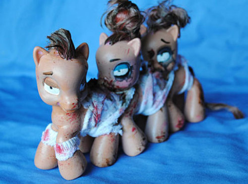 "My Little Pony Centipede. Yes you read that right. And you can have your own!  ""THIS IS NOT A TOY. It is a decorative art display and not intended for children. Please allow 1-2 weeks per delivery. This item may differ from final product due to the fact it is made on demand.""  The Etsy page whence you can purchase it. (via I Watch Stuff.)"