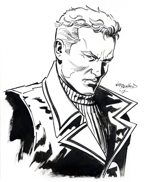 thehappysorceress:  Guy Gardner by Bill Reinhold