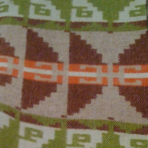 Tribal blanket inspiration for my pins! #tribal #geometric #earthy #blanket (Taken with instagram)