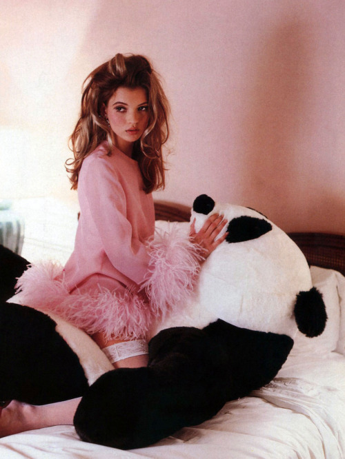 thedeity:  Kate Moss by Lance Staedler for Glamour France April 1992   This is Kate???