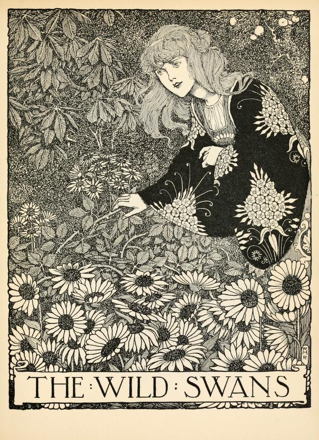 geisterseher:  Hans Andersen's fairy tales with illustrations by W. Heath Robinson. Published 1913 by Constable in London. - via