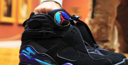 mac-hollywoodswagg:  Og Jordan 8 (Aqua) - so fresh.