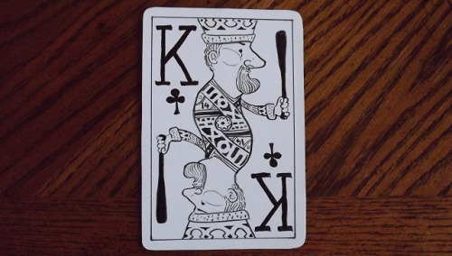 King of Clubs by Carl Skanberg