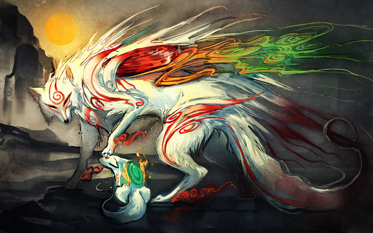 .Okami. Good Boy. by =sakimichan