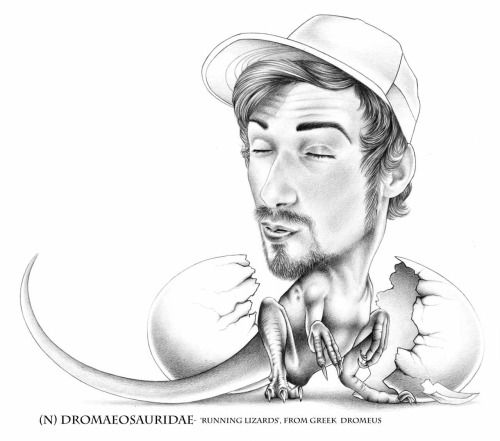 "Jake Galloway©2010 ""Dinoself"" Graphite/ Mi-Tientes white/ Digital Lettering"