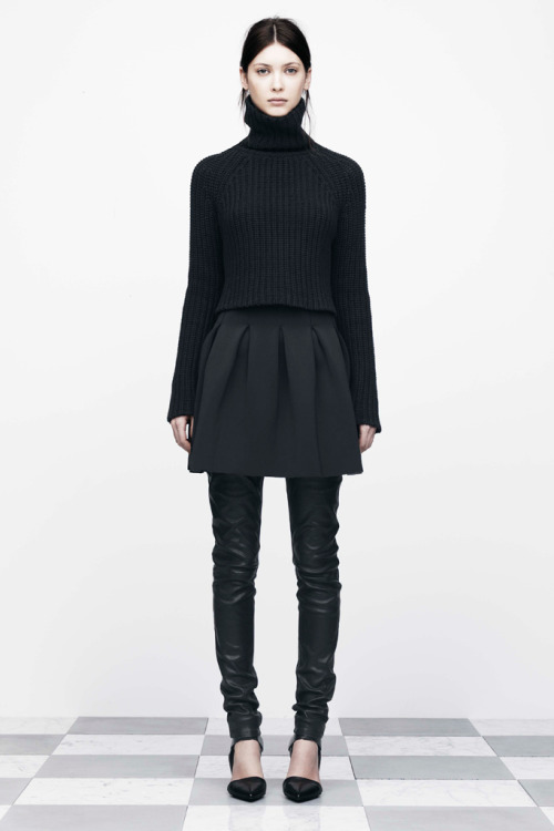 gaptoothbitch:  T BY ALEXANDER WANG FW 2012
