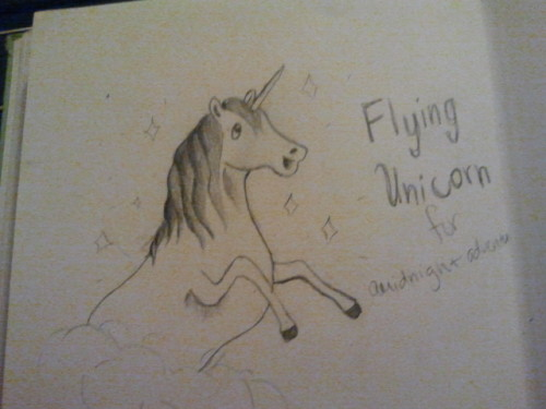 Flying Unicorn for amidnightadventure