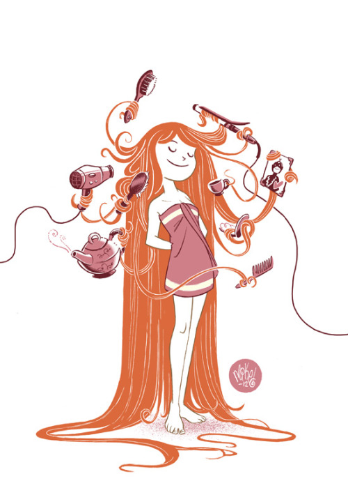garabating:  Hair Stylin by *mikemaihack
