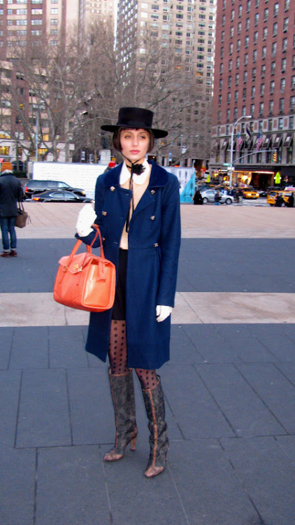 The Rebel Waltz: NY Fashion Week Street Style Part 1