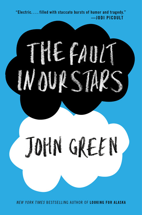 "Title: The Fault In Our Stars Author: John Green For Nerdfighters, this is not an unfamiliar book. For everybody else, however, this book is quite the mystery. Reading the short blurb inside the front cover, you might think ""a cancer book? I don't want to read a cancer book! People with cancer tend to die! This book must be depressing."" It is a little depressing, but believe me when I tell you that it's much more than that. It's invigorating and soul-searching. It's insightful, thoughtful, and hopeful. It's about the beauty and life that two sick kids find in each other and full of funny moments that anybody can relate to. This book is not about death - it's about life. This book is so jokes and I promise that if you don't like it, you can track me down and punch me. If you're at all curious about the book, get a taste of it before you read it by watching the author read the first two chapters. -Kate"