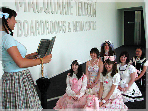Lolita School by chelsilynn on Flickr.