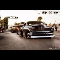 #hotrod #oldsmobile #mercury #dreadsled #slammed #classic #Chevrolet #bigblock #muscle #american #lowriders #low  Doesn't get better then some sleds rollin in.  (Taken with Instagram at City Of Westminister)
