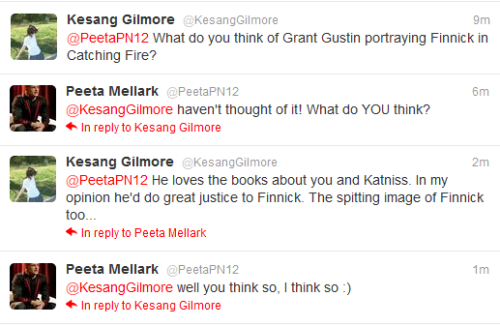 guys, even Peeta thinks Grant Gustin as Finnick would be a good idea :)