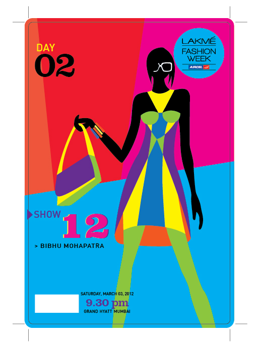 Mumbai  Bibhu Mohapatra  Runway show Lakme Fashion Week March 3, 2012 9:30 pm Grand Hyatt Mumbai  India