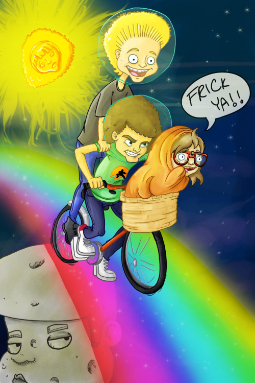 RAINBOW ROAD!! Dianna Bedell-Unsupervised: Animator