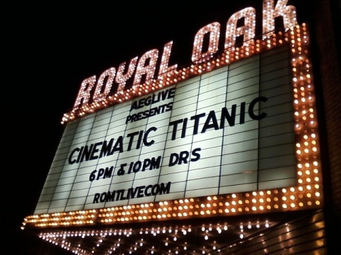 02/25/12: The Royal Oak Music Theatre in Royal Oak (Metro-Detroit), Michigan - Astral Factor [new] at 7pm & The Doomsday Machine [2nd film released by CT] at 10pm.