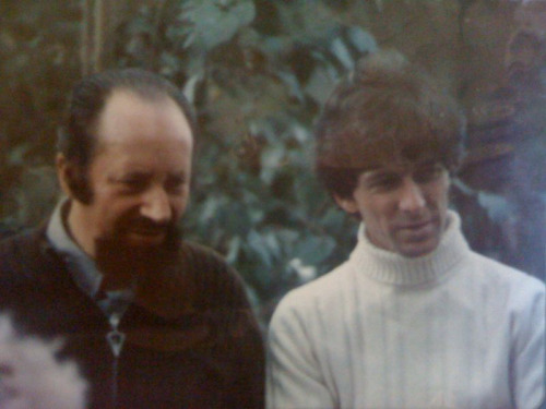 albert tucker and dad. heide 1972